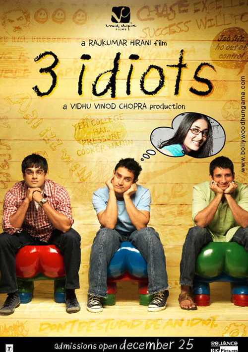 3 Idiots (2009) Hindi Movie