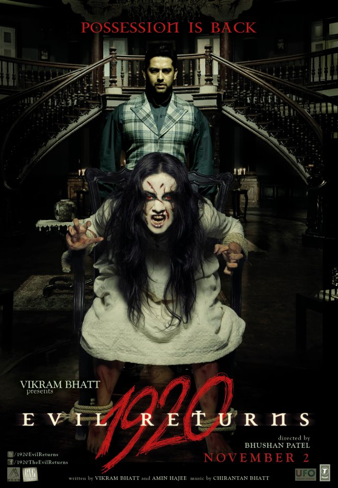 1920: Evil Returns (2012) Hindi Movie 325MB Downloade