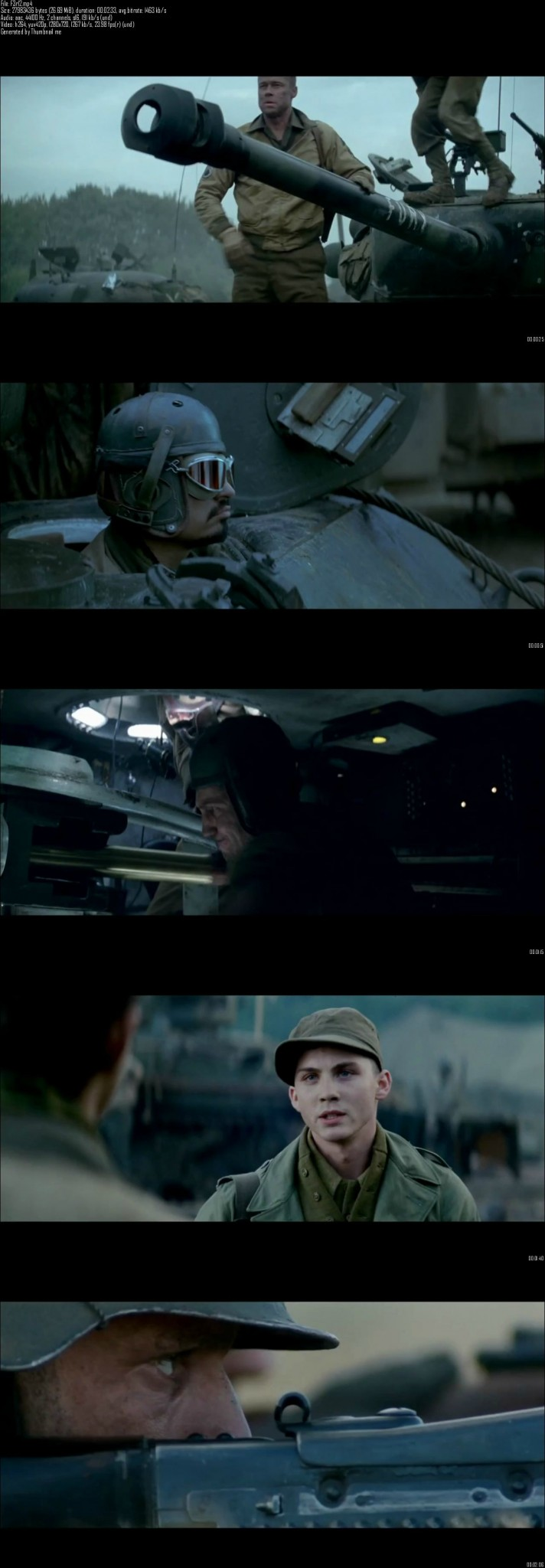 Fury (2014) English Movie Official Trailer