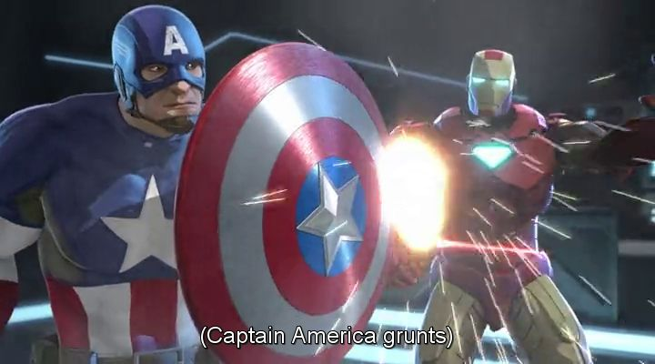 Iron Man and Captain America Heroes United (2014)