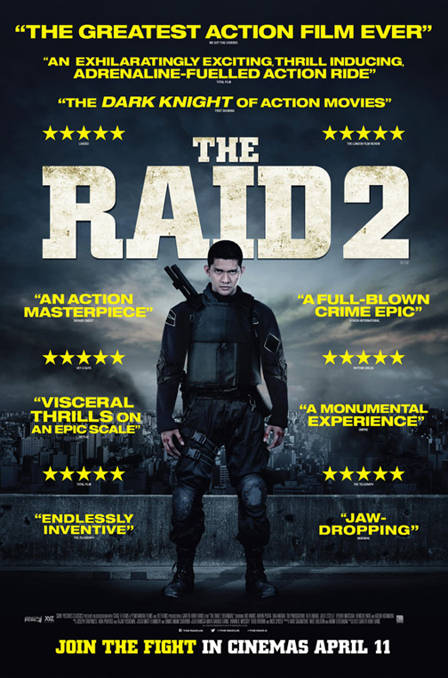 The Raid 2 2014 Hindi Dubbed Movie Download 480p 250MB