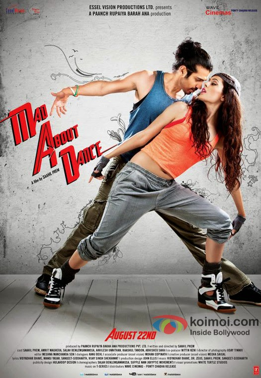 Mad About Dance 2014 Hindi Movie Free Download FULL HD 300MB