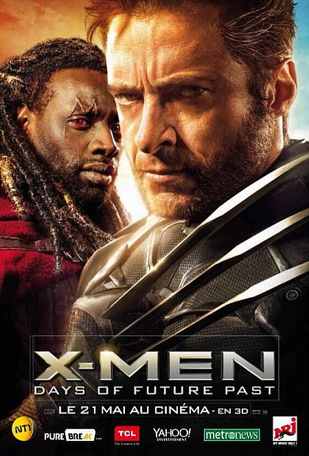X Men 6 Days of Future Past 2014 HD 480p 350MB Free Download