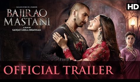Bajirao Mastani – Official Trailer HD 720p