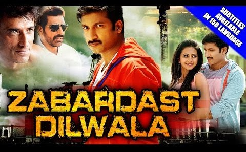 Zabardast Dilwala (2015) Hindi Dubbed 400MB