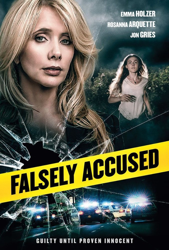 Falsely Accused 2016 HDRip 450MB
