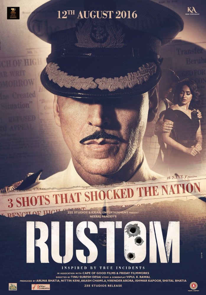 Rustom 2016 Hindi Official Trailer 720p
