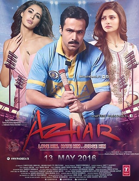 Azhar (2016) Hindi 650MB BRRip 720p