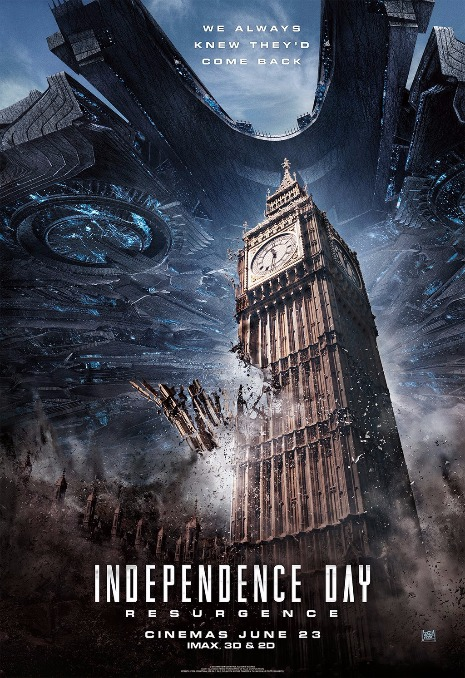 Independence Day Resurgence 2016 English 480p HDRip 550MB