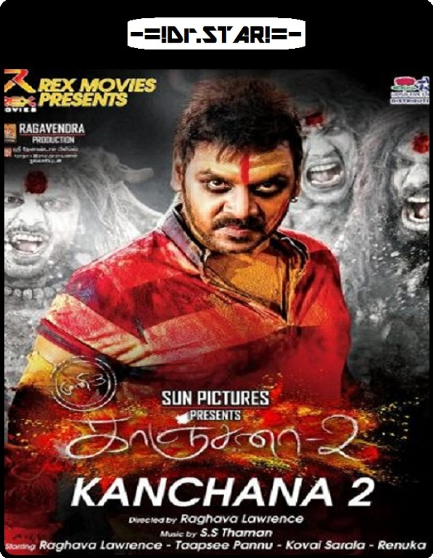 Kanchana 2 (2015) Dual Audio 480p HDRip 500mb