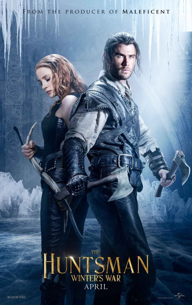The Huntsman Winters War 2016 Dual Audio 720p BluRay 400mb