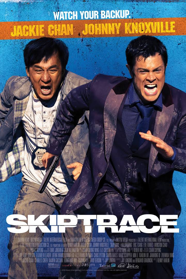 Skiptrace 2016 English 480p BluRay 350mb