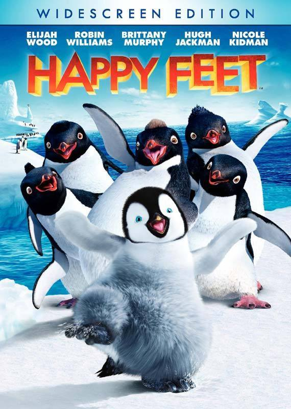 Happy Feet (2006) Hindi Dubbed 720p BRRip 450MB