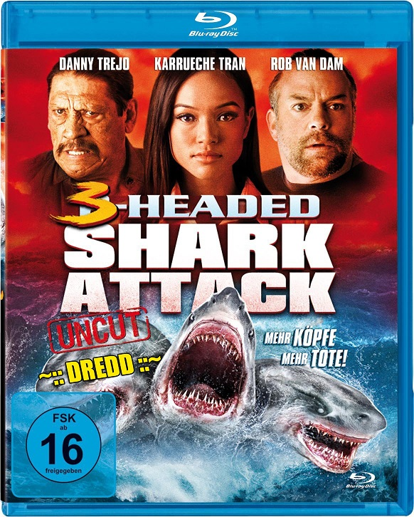 3 Headed Shark Attack (2015) Dual Audio 720p BluRay 700mb