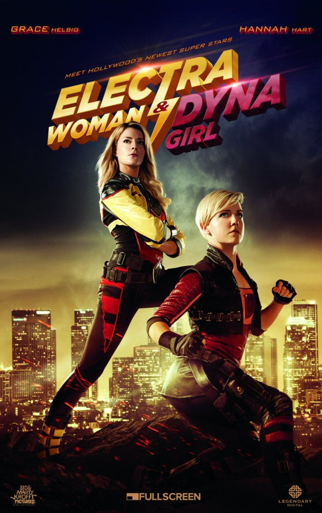 Electra Woman and Dyna Girl 2016 720p HDRip 300mb