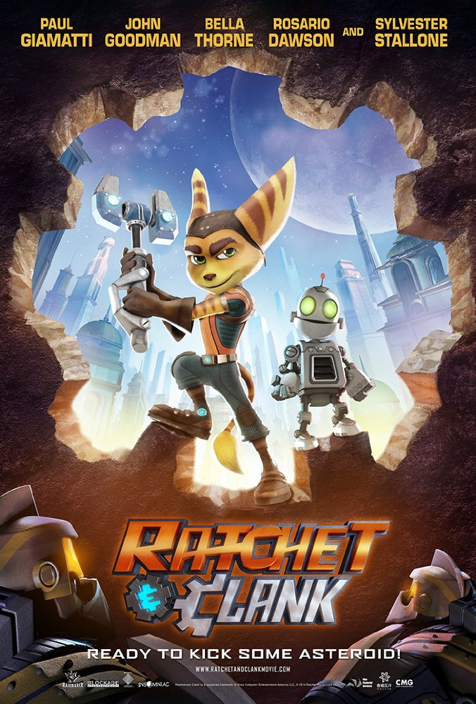 Ratchet and Clank 2016 720p BluRay 500mb