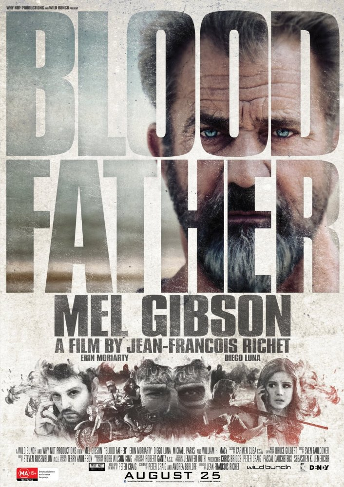 Blood Father (2016) English BluRay 850MB