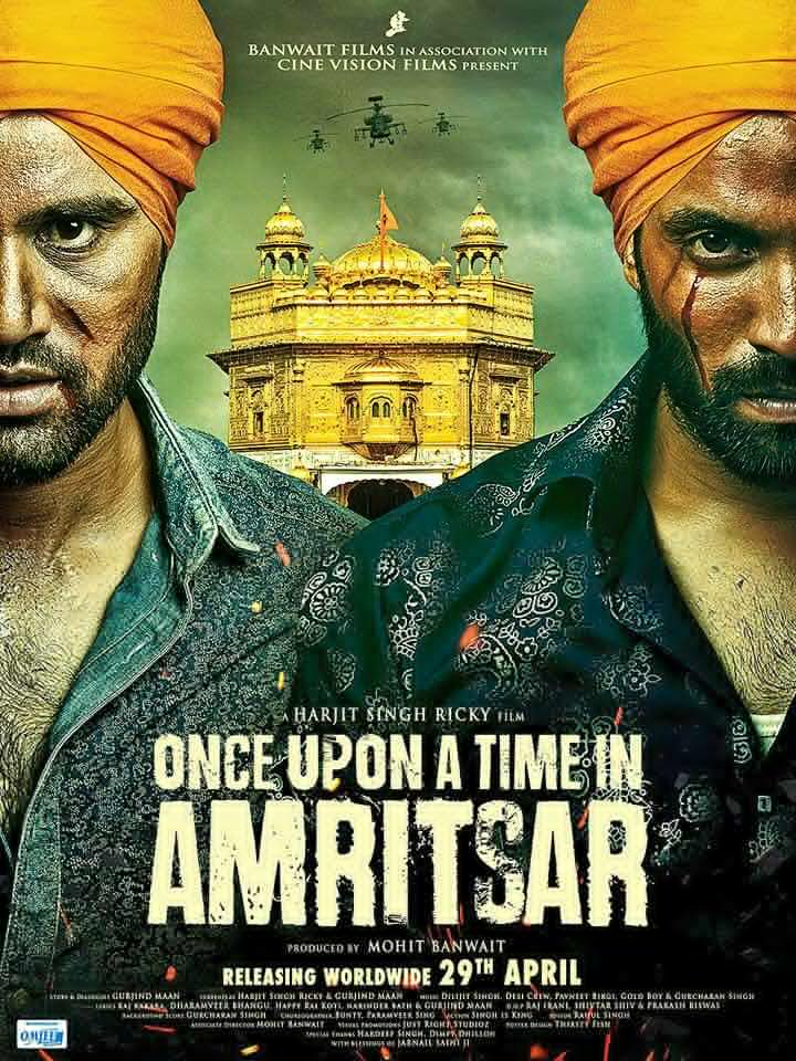 Once Upon A Time in Amritsar (2016) Punjabi HDRIP 550MB