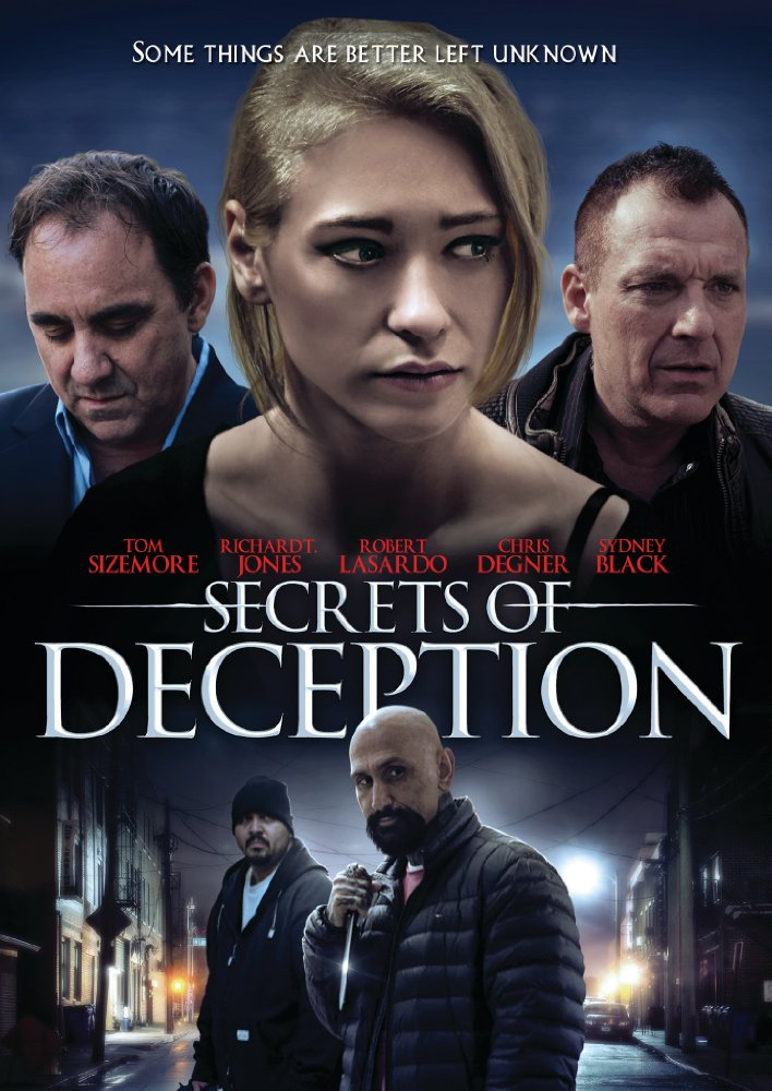 Secrets of Deception (2017) English HDRip 700MB