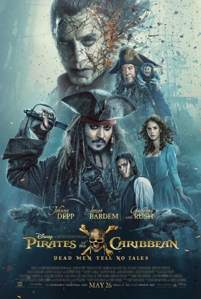 Pirates of the Caribbean Dead Men Tell No Tales 2017 English HDCAM 700MB