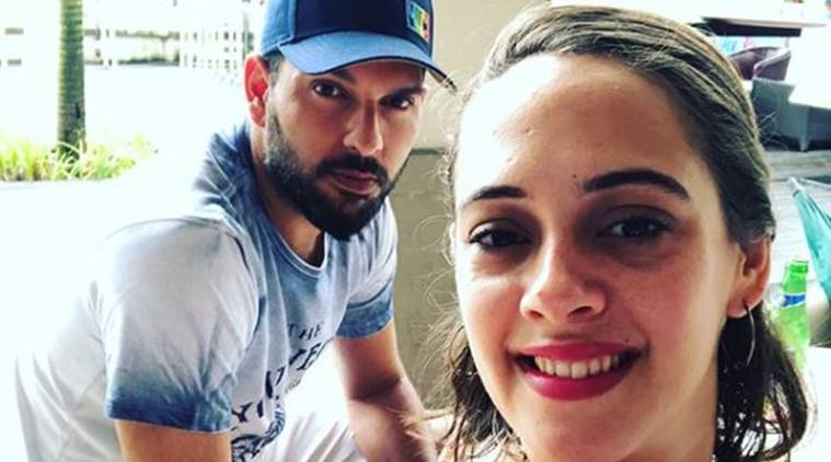 Yuvraj Singh is making wife Hazel Keech's selfies sexier, see photos