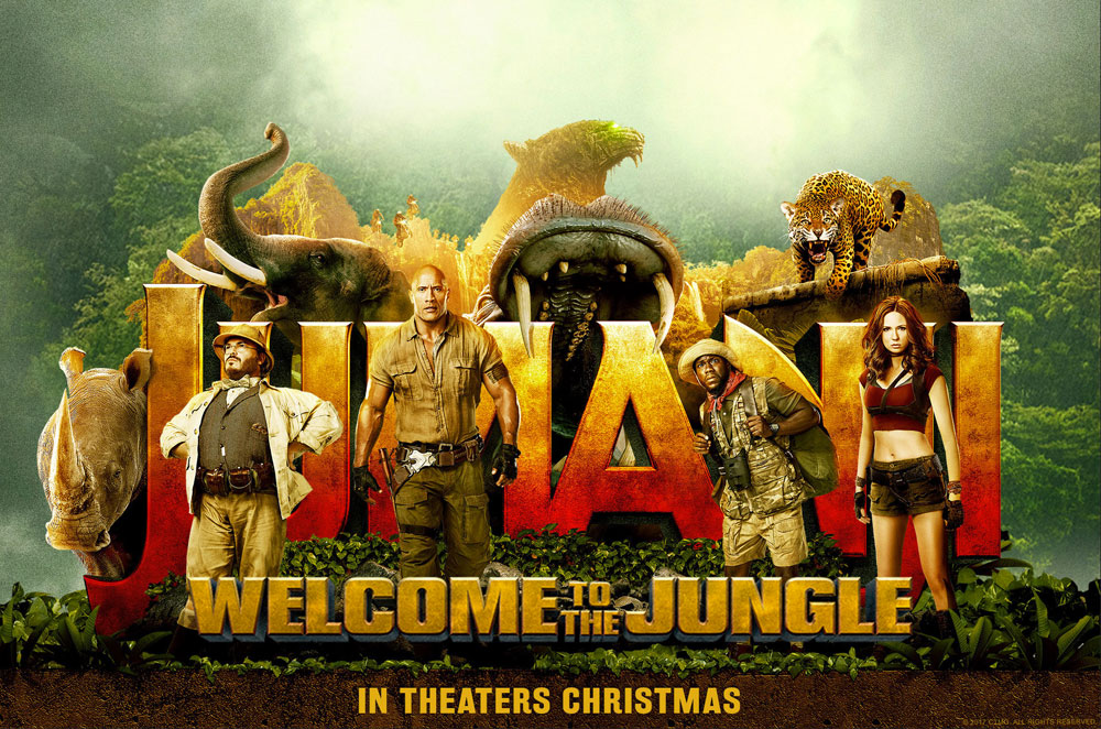 Jumanji Welcome to the Jungle 2017 Dual Audio 200MB HDRip HEVC Mobile