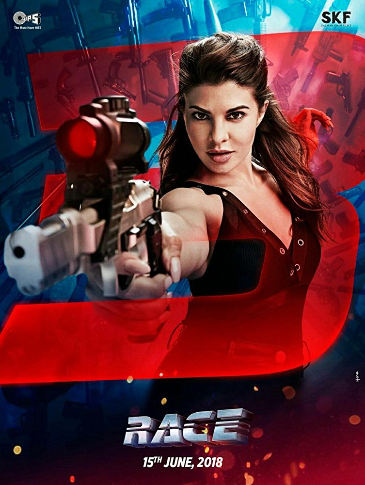 Race 3 2018 Hindi 720p Pre-DVDRip 950MB