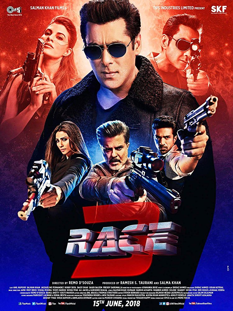 Race 3 (2018) Hindi CAMRip 900MB