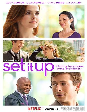 Set It Up 2018 English 350MB WEBRip 480p
