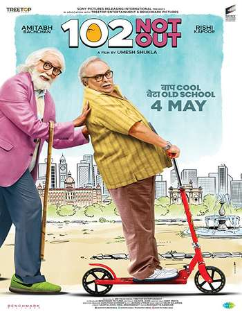102 Not Out 2018 Hindi 130MB HDRip HEVC Mobile ESubs