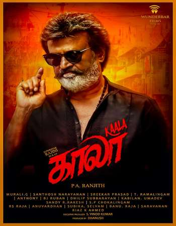 Kaala 2018 Hindi 400MB HDRip 480p ESubs