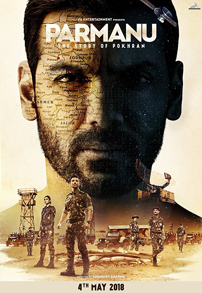 Parmanu The Story Of Pokhran 2018 Hindi 480p WEB-DL 300MB