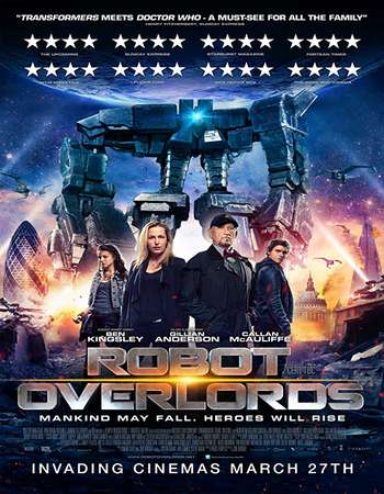 Robot Overlords 2014 Hindi Dual Audio 400MB BluRay 720p ESubs HEVC