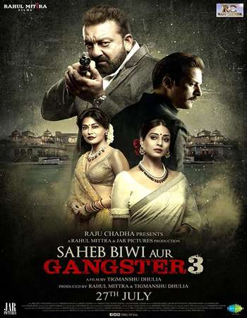 Saheb Biwi Aur Gangster 3 2018 Hindi Pre-DVDRip750MB