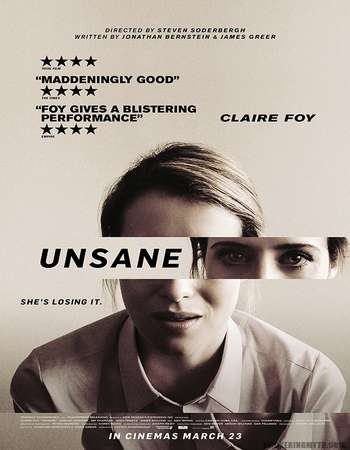 Unsane 2018 Hindi ORG Dual Audio 150MB BluRay HEVC Mobile ESubs
