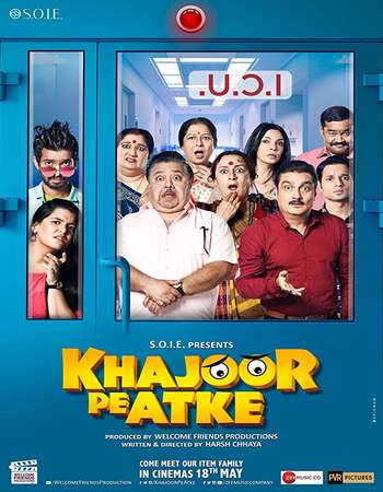 Khajoor Pe Atke 2018 Hindi 400MB DTHRip 720p HEVC